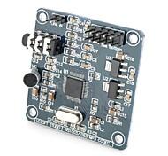 VS1003 на борту микрофон mp3 модуля - синий