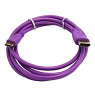 HDMI Cable MINI HDMI Male to HDMI Female 1.4V Gilded Purple Line