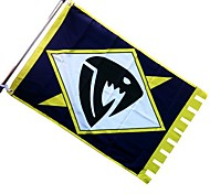 Fairy Tail Saber Tooth Flag Cosplay Accessory