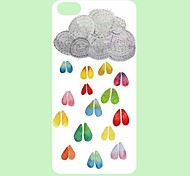 Beautiful Light Pattern PC Back Case for iPhone 5C