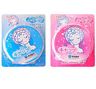 Lace Waterproof Cloth Shower cap Random Color
