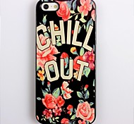 CHILL OUT Design Aluminium Hard Case für iPhone 4/4S