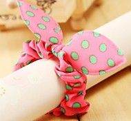 Rabbit Ears Dots Elastic Hair Bands Hair Ties