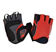Glove Cycling / Bike Women's / Men's / All Fingerless Gloves Anti-skidding Summer Red S - BOODUN