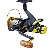 Carrete de la pesca Carretes para pesca spinning 5.2:1 10 Rodamientos de bolas -Manos / Intercambiable / ZurdoPesca de Mar / Pesca de