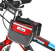 MOVEIRON 600D Polyester Mesh and Nylon Red Cycling Frame Bag