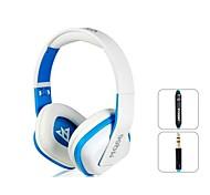OVLENG A1 Superb 3.5 mm Auriculares En-oído con micrófono y 1,2 m de cable (blanco y azul)