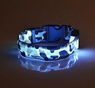 High Quality Glowing in the dark Safety Flashing Dog  LED dogs collar