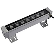 LED 7pcs High Power LED outdoors 7W Warm White Wall Washer Light AC85-265V