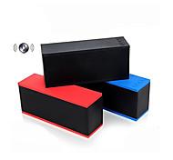 EVA  D501 Bluetooth V2.0 + EDR Handsfree 5W Stereo Speaker w/ Microphone / TF Card Slot - Black /Red/Blue
