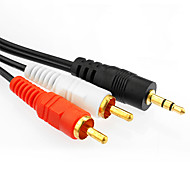 3.5mm macho a macho cable de audio 5m 16.4ft