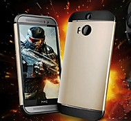 2 in 1 Hybrid  Armour Case for HTC M8 (Assorted Colors)