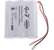 "3.6V ""1800mAh"" Rechargeable Cordless Phone Replacement Battery Pack"
