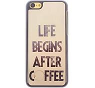 Coffee Design Aluminium Hard Case for iPhone 5C