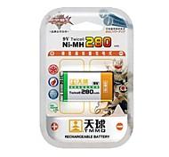 TMMQ TQ-MH07 9V High-Capacity NiMH Rechargeable Batteries