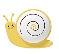 QiDu Strange New American Standard Plug with Very Cartoon Led Plug-in Electric Small Night Light(The Snail Yellow)