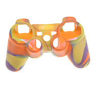 Camouflage Protective Silicone Skin Case for PS3 Controller