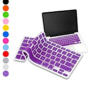 "Elonbo Silicone Keyboard Cover for MacBook Air/Pro with Retina Display 13"" 15"" 17""(Assorted Colors)"