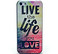 VORMOR® Live and Life of Sea Pattern Hard Case for iPhone 4/4S