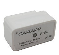 Car Driving Assistant OBD2 VAG Car APP Support Android Apple Dual System with Bluetooth Wireless V200