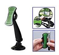 GripGo Universal Car Mobile Phone GPS Mount Holder 360 Degree Rotating for iPhone Samsung HTC and Other Smart Phone
