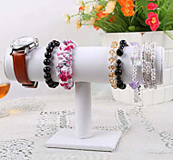 Classic Single Floor Watch Bracelet Stand Multicolor Flannelette Leather Jewelry Displays(1 Pc)(More Color)