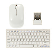Souris & Clavier QWERTY Ultra-Fin Sans-Fil