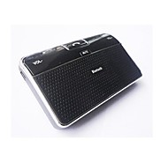 Wireless Bluetooth Speakerphone Handsfree Car Kit with Car Charger Supports GPS MP3 Audio