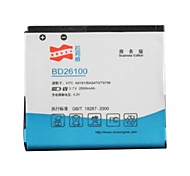 высокая производительность 3,7 2500mAh литий-ионная батарея для HTC g10/a9191/bas470/t8788