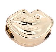 liga lábio diy encantos pingentes para pulseira&colar (10 peças por pacote)