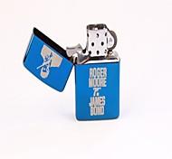 Boutique Star Gift Kerosene Lighter Two Sets of Blue Ice Lighter