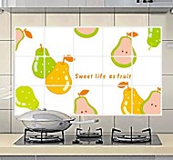 Doudouwo®  Food The Sweet Fruit Pears Anti-Oil Wall Stickers