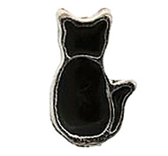 20PCS Fashion Alloy Enamel Cat Floating Charms For Memory Living Locket(81 PCS Per Package)