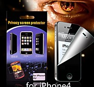 anti-glare privacy screen protector voor iPhone 4/4s
