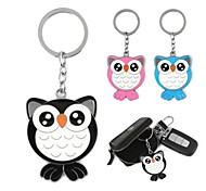 Multicolored Owl Epoxy Metal Key /Luggage Deduction(1pc)