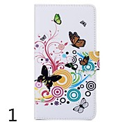 PU Leather Flower Pattern Case for Sony Xperia T2