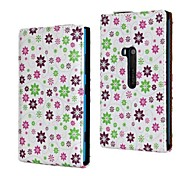 Beautiful Small Flower Pattern PU Leather Full Body Case for Nokia Lumia 920/N920