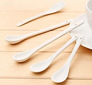 Long Handle Ceramic Spoons