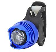 YELVQI luz roja azul de la aleación de aluminio Luz trasera Advertencia Ciclismo