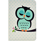 Sleeping Owl Pattern Case for iPad mini 3, iPad mini 2, iPad mini
