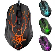 SADES Avogo A3050 3500DPI Optical LED 6 Buttons Backlight Wired Gaming Mouse