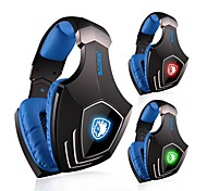 SADES A60 Headphone USB Over Ear Surround Sound Gaming  with Microphone for PC