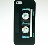 Black Tape Pattern Hard Case for iPhone 4/4S