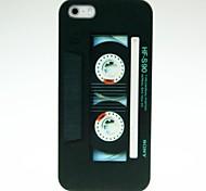 schwarz Bandmuster Hard Case für iPhone 4/4S