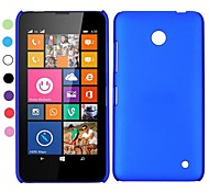 Ultrathin huile Coated caisse dure de PC pour Nokia Lumia 630 (couleurs assorties)