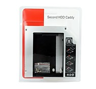 """2.5 """"SATA zu SATA HDD / SSD Caddy für 12,7 mm Optisches Laufwerk"""
