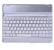 Aluminum Bluetooth Keyboard Case for Apple iPad