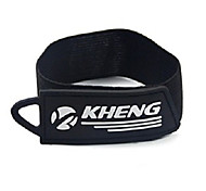 Kheng Black Spandex Safe Cycling Legging Belt