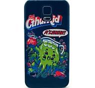 Fisch Monstermuster Hard Case für das Samsung Galaxy i9600 s5