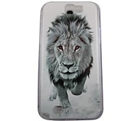 For Samsung Galaxy Note Pattern Case Back Cover Case Animal PC Samsung Note 2